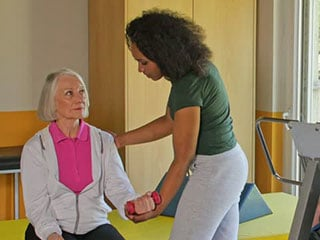 caring for a dementia patient means involving her in normal activities